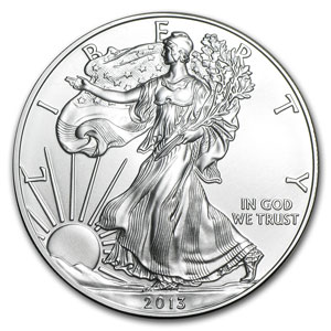 2013 (S) Silver American Eagle - MS-69 NGC - Early Releases